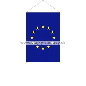 Vlajka stolová EU 11x16,5cm